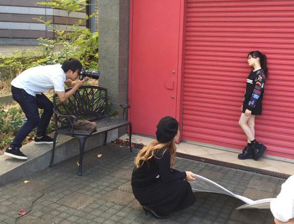 カタログ撮影現場実習レポート@神戸