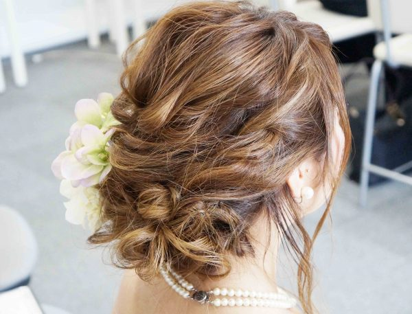 bridalcasualhair