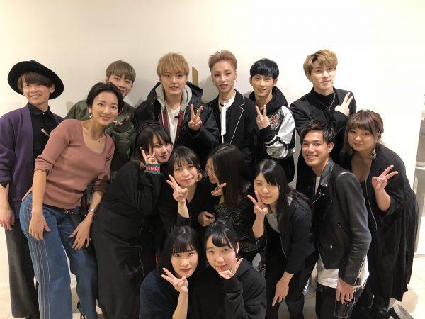 韓国アイドルにヘアメイクサポートしました!現場実習報告