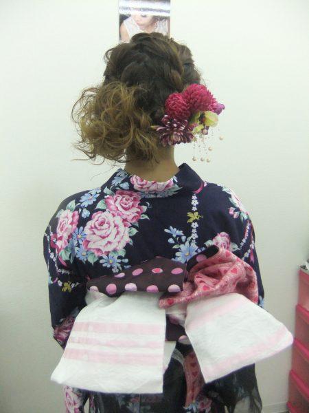 自分自身でゆかたが着れる!浴衣着付けセミナー@名古屋校