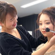 全日制トータルビューティーコースヘアメイク科